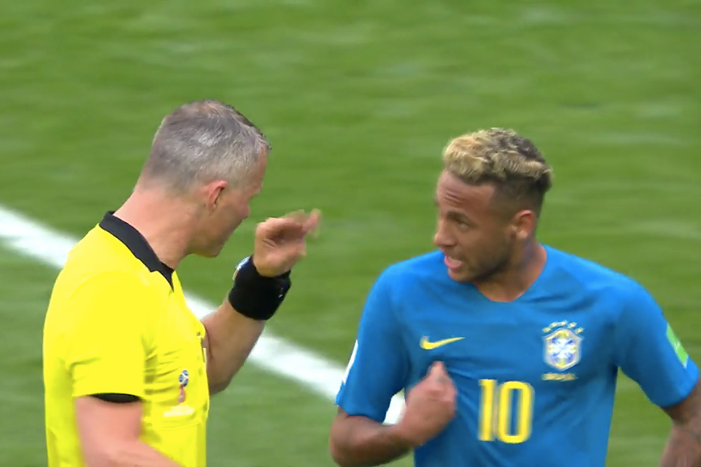 Kuipers en Neymar