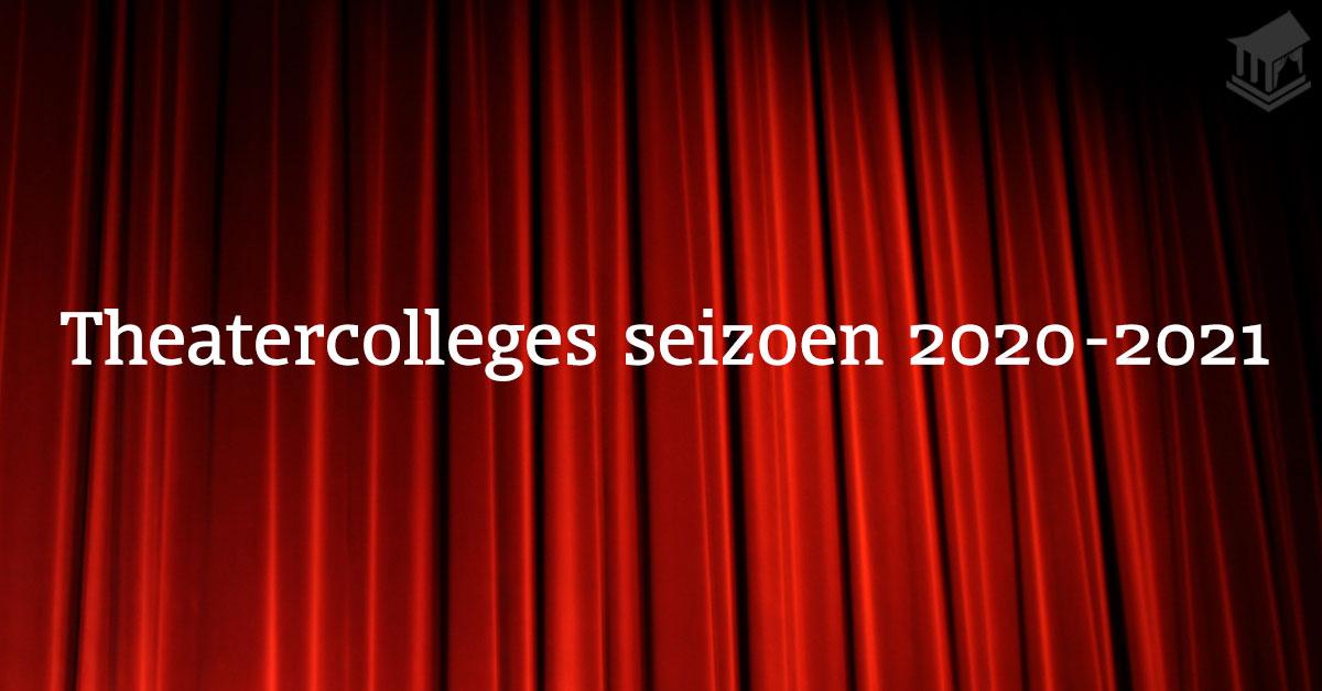 Theatercolleges-seizoen-2020-2021